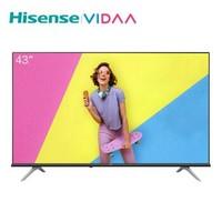 VIDAA  海信(Hisense)VIDAA 43V1F  43英寸 液晶电视 *2件