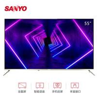 三洋(SANYO)55CE5575A2  55英寸  4K全面屏智能语音电视