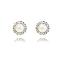 Givenchy/纪梵希 简约风人造珍珠耳钉 银色
