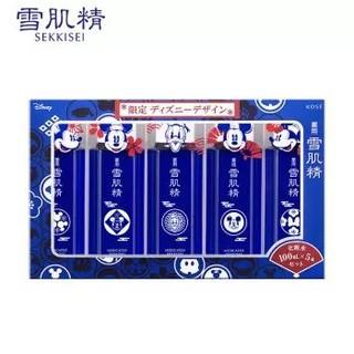 SEKKISEI 雪肌精 迪士尼限定雪水组套(化妆水 100ml*5)