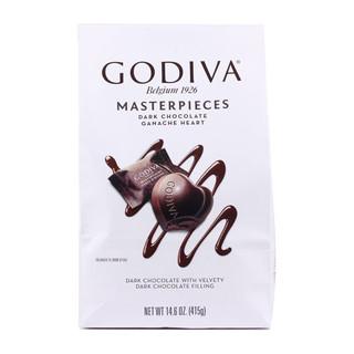 Godiva 歌帝梵 软心形夹心丝滑黑巧克力 415g*2袋