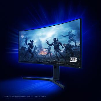 MI 小米 曲面显示器 34英寸 VA显示器(3440×1440、1500R、144Hz、FreeSync)