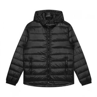 GXG GY111286G 男士保暖羽绒服 黑色 S