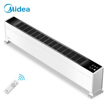 美的(Midea)京品家电踢脚线取暖器美居APP智能控温电暖器家用办公电暖气IOT联网移动地暖HDY22L