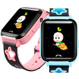 文曲星儿童电话手表R5 防水版 学生定位手机 男孩女孩儿童电话手表 蓝色