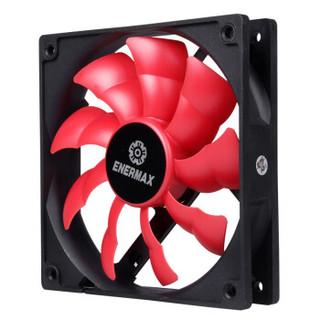 安耐美(Enermax)火蝠12cm机箱风扇  磁悬浮轴承 可拆卸风扇叶片可在高达85°C的温度正常工作