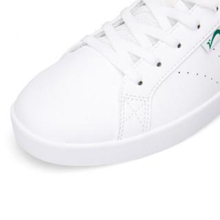贵人鸟男鞋新款情侣运动鞋男士休闲鞋耐磨轻便旅游鞋防滑滑板鞋 -3白色/绿尾 42