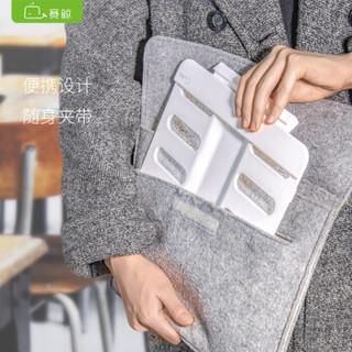 赛鲸 便携阅读架 办公学习读书架 iPad手机平板支架 夹书器 乐谱架 可折叠 P6