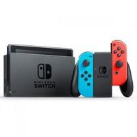 预告25日 任天堂Switch掌上游戏机红蓝手柄日版