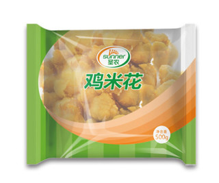 圣农 鸡米花 原味 500g
