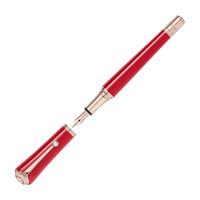 京东PLUS会员 : MONTBLANC 万宝龙 缪斯系列 玛丽莲梦露 特别版钢笔 红色 M尖