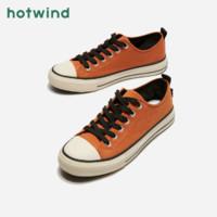hotwind 热风 H14M9720 男士系带帆布鞋