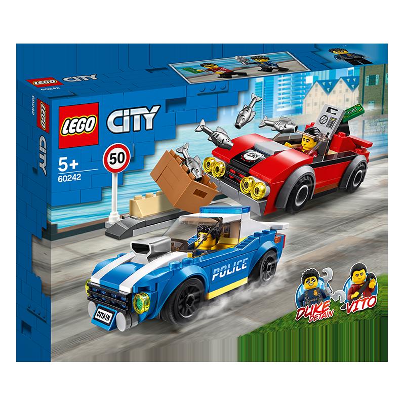 LEGO 乐高 城市系列 60242 警察公路大追捕