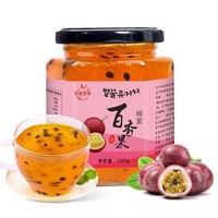 序木堂 蜂蜜百香果茶罐装 500g *3件