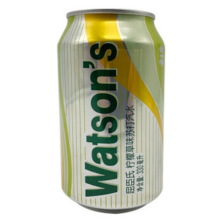 Watsons 屈臣氏 苏打汽水 碳酸饮料 六种口味各一瓶 330ml*6罐