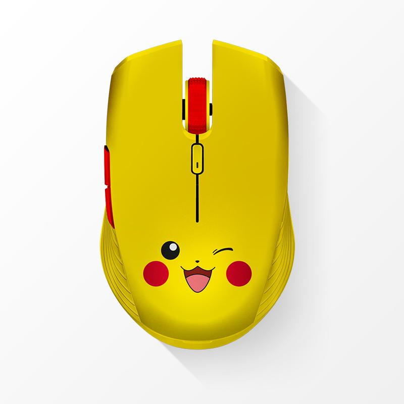 RAZER 雷蛇 皮卡丘限定款 双模无线鼠标 7200DPI 黄色