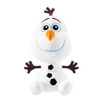 迪士尼Disney 冰雪奇缘雪宝毛绒玩具可爱卡通娃娃公仔宝宝玩偶生日礼物桌面摆件 男孩女孩玩具 *3件
