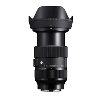 SIGMA 适马 ART 24-70mm F2.8 DG DN 全画幅微单 恒定大光圈标准变焦镜头 索尼卡口