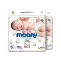 moony 尤妮佳 Natural 皇家系列 婴儿纸尿裤 S82*2