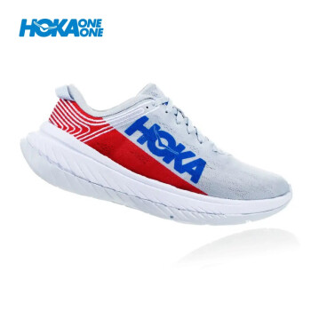 HOKA ONE ONE 男卡奔X碳板竞速公路跑步鞋