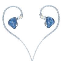JadeAudio 翡声 EA3 耳机 入耳式 浅蓝色