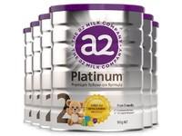 【保税区】【6罐装】A2澳洲奶粉白金装 2段 900g (6-12个月)【保质期至21年6月】