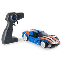 meccano麦尔卡罗启蒙拼装玩具赛车男孩礼物零件车模组装遥控四驱蓝色跑车 91843