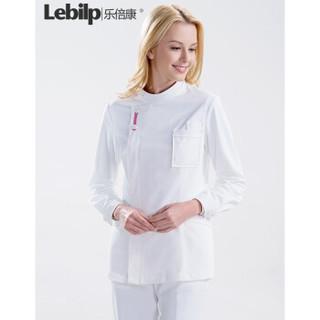 乐倍康(Lebilp)白大褂长短袖男女医生服实验服护士服医院工作服 女款长袖 L
