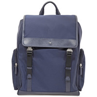 MONTBLANC Sartorial Jet Backpack Medium- Blue