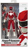 Mighty Morphin Red Ranger 红衣战士人偶玩具带配件