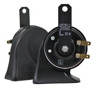 电装蜗牛汽车鸣笛超响高低音双插单插原厂升级喇叭无损安装