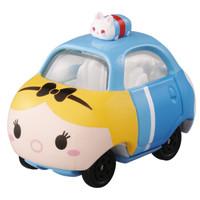迪士尼多美卡动漫周边合金小汽车TSUM-TOP-爱丽丝小汽车TMYC851974 *4件