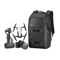 Lowepro 乐摄宝 FreeLine BP 350 AW 灰色纵冠线双肩数码相机包
