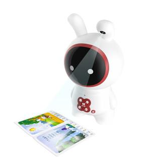 历史低价、京东PLUS会员 : 火火兔 J7pro 绘本阅读熏教机器人  标配版红色