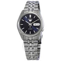 精工 自动蓝色表盘男士手表