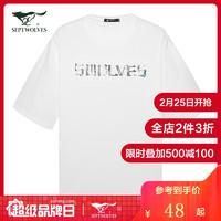 SEPTWOLVES 七匹狼 191930602506 男士T恤