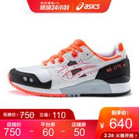 ASICSTIGER/亚瑟士 女 休闲运动鞋 GEL-LYTE III OG  白色/黑色 36