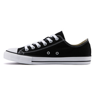 凡客诚品帆布鞋男休闲鞋系带简约低帮系带纯色 黑色 41