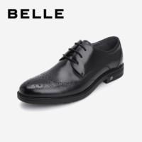 BELLE 百丽 13940AM9 布洛克雕花商务正装皮鞋