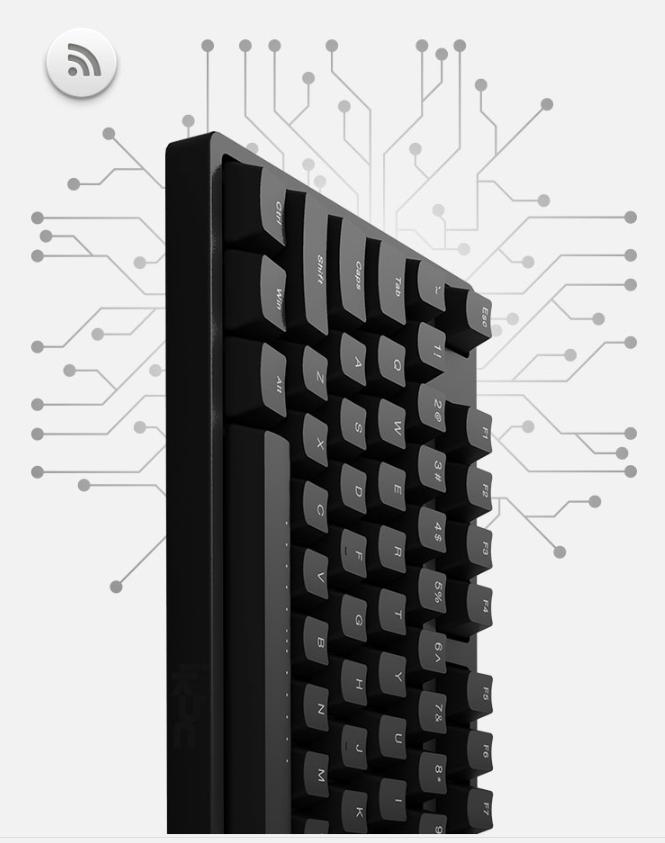 iKBC W200 无线机械键盘