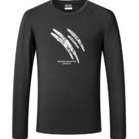 6日0点:SEPTWOLVES 七匹狼 1D1A10601817 男士长袖T恤