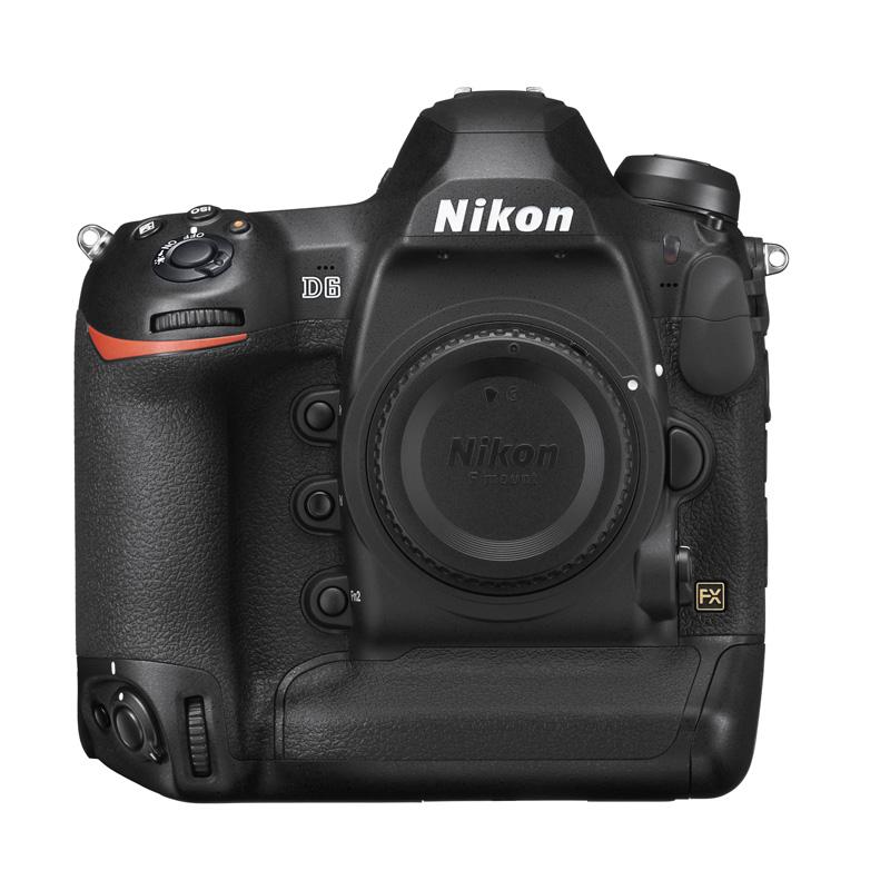 Nikon 尼康 D6 全画幅数码单反相机 高清专业连拍 单机机身(无镜头) 单机身