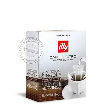 illy 意利 意式咖啡粉 中度烘焙 滤过式 45g *4件