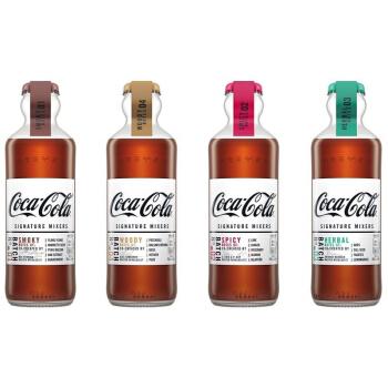 Coca Cola 可口可乐 收藏版 复古 Signature Mixer 调酒可乐 四款全套