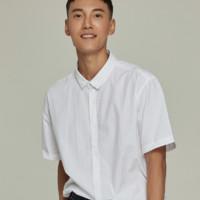 ESPRIT 埃斯普利特 EDC069CC2F006 男士短袖衬衫