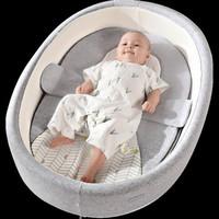 巴布豆床中床新生儿便携式多功能折叠婴儿床