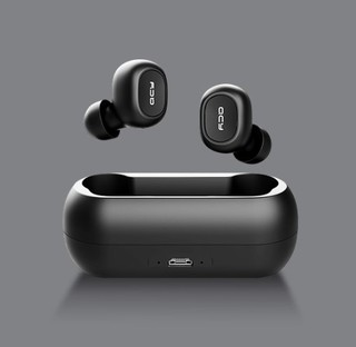 QCY T1 青春版 入耳式蓝牙耳机 黑色