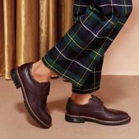 BELLE 百丽 B7202DDM8 男士系带牛皮鞋