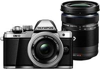 Olympus 奥林巴斯 紧凑型相机 OM-D E-M10 Mark II 14-42 EZ 镜头 + 40-150 mm R 银色(含税)