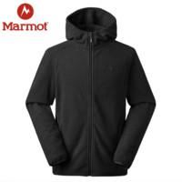 Marmot 土拨鼠 V83835 男士连帽抓绒衣